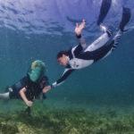 Federica Brignone e Gardaland Sea Life Aquarium insieme per ripulire i fondali e il litorale del Lago di Garda