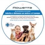 """Rowenta ed ENPA insieme nel progetto """"Adotta a distanza un amico a 4 zampe"""""""