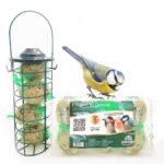 Nuovo kit Peraga per rifocillare gli uccellini selvatici in inverno