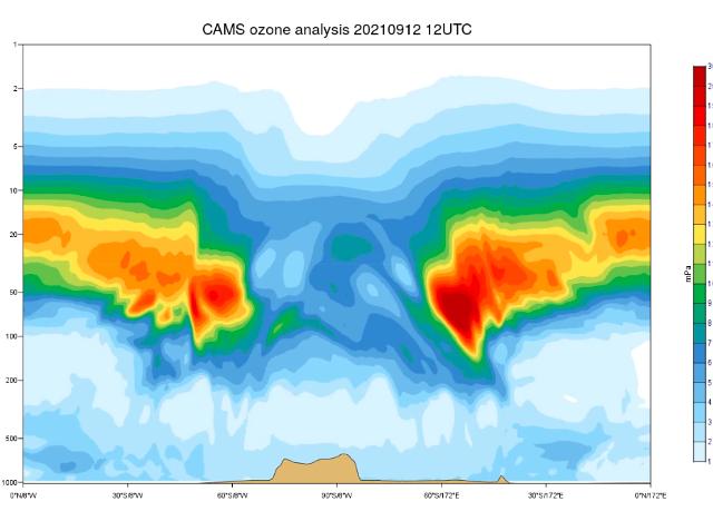 Il buco dell'ozono nell'Emisfero Meridionale supera le dimensioni dell'Antartide